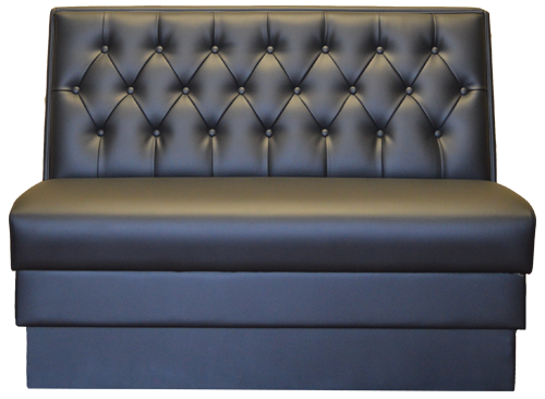 Button Tufted Booth - Minnesota Millwork & Fixtures