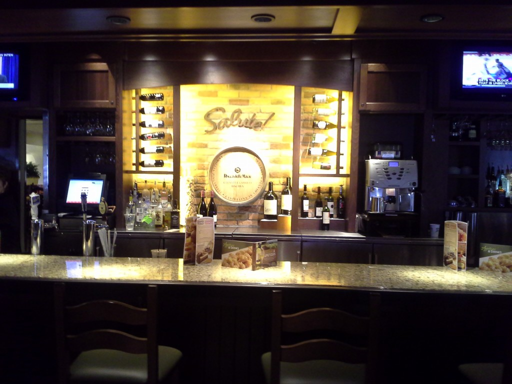 perfect bar display branding