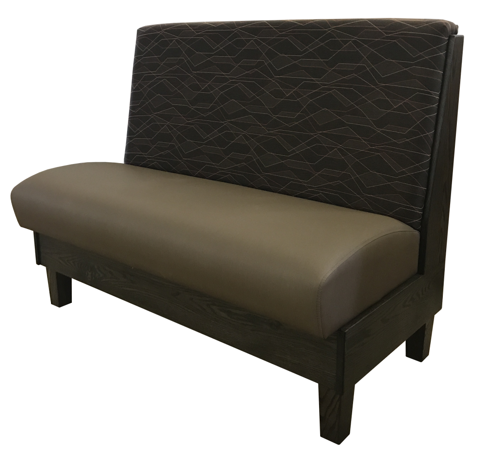 single new booth design linear fabric